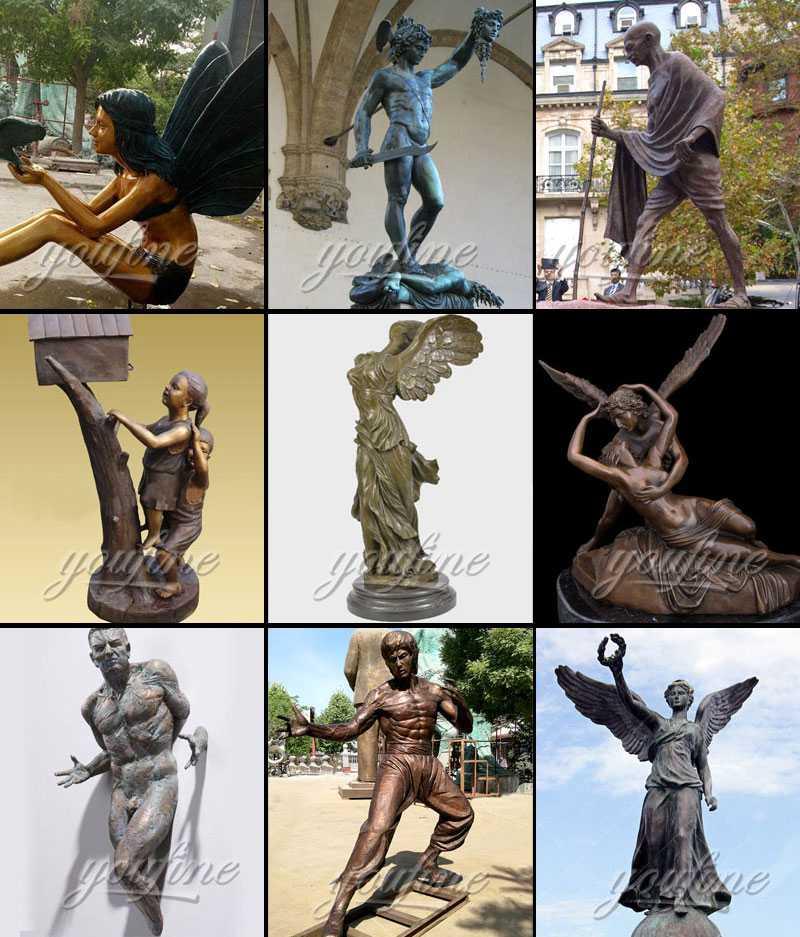 Бронзовая статуя для продажи