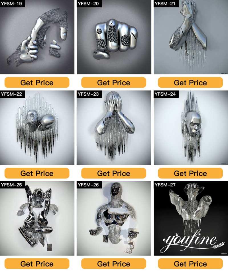 производитель скульптур из нержавеющей стали