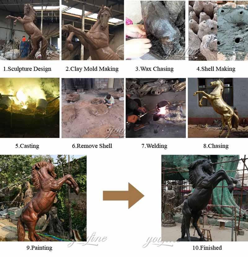 статуи лошадей в натуральную величину для продажи